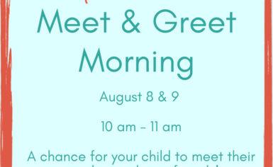 Meet & Greet Mornings