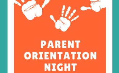 Parent Orientation Night!