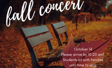 Fall Concert!