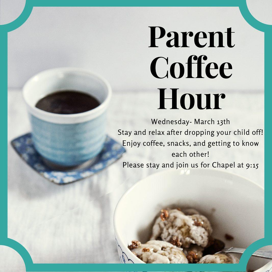 Parent Coffee Hour